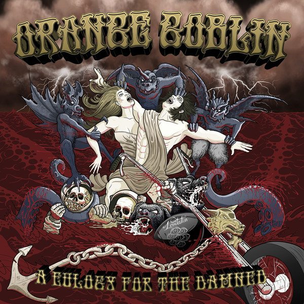 A Eulogy for the Damned by Orange Goblin album cover