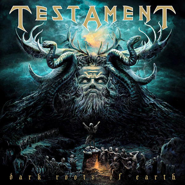 Dark Roots of Earth by Testament album cover