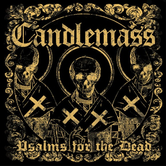 Psalms for the Dead by Candlemass album cover