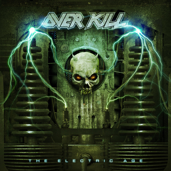 The Electric Age by Overkill album cover