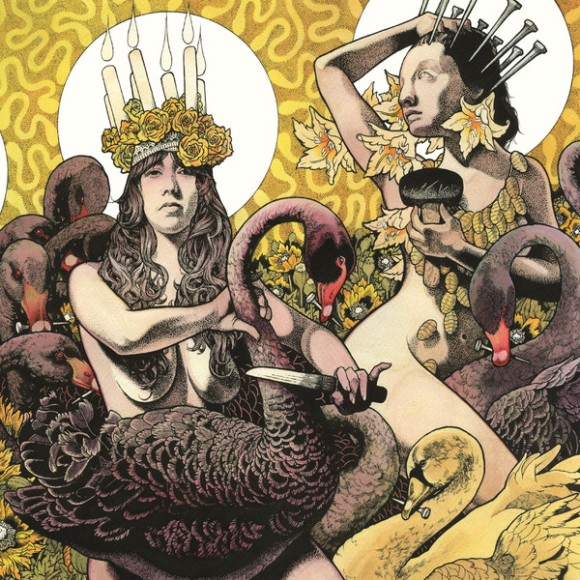 Yellow & Green by Baroness album cover