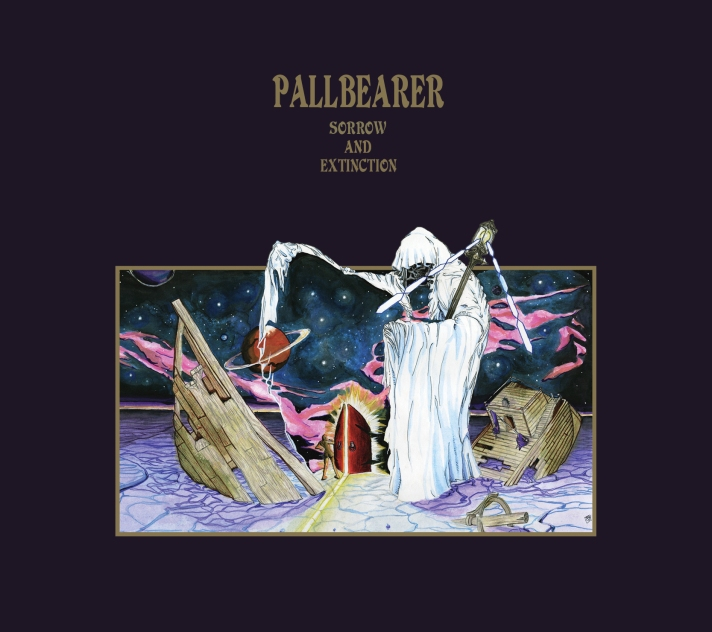 Sorrow and Extinction by Pallbearer album cover